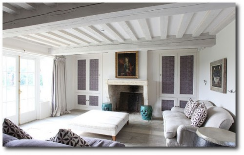 White Interiors -Cotswold's Barn Conversion From Light Locations 2