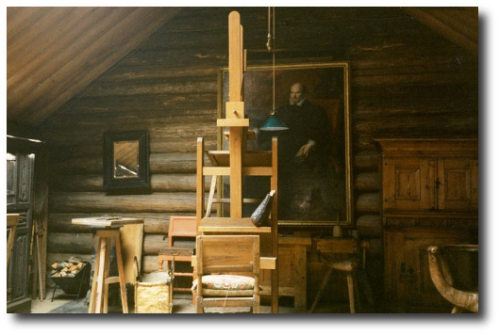 Anders Zorn's studio in Mora