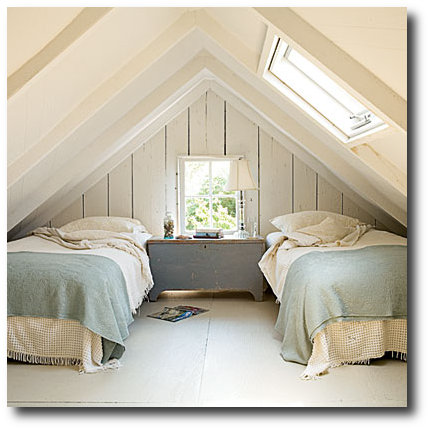 Attic Bedroom Seen On Coastal Living Magazine