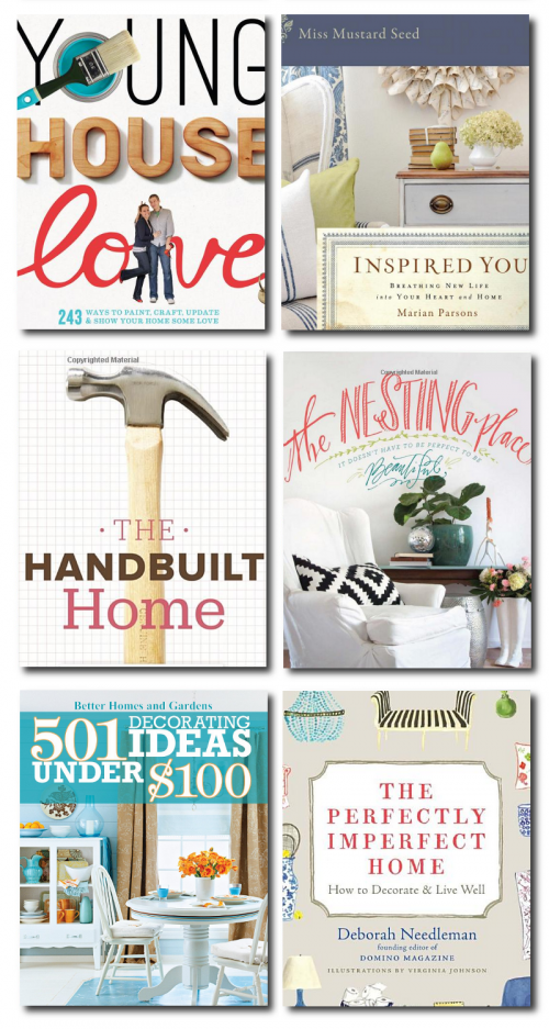 DIY Famous Bloggers Interior Design Books