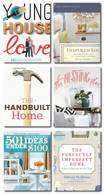 DIY Famous Bloggers Interior Design Books