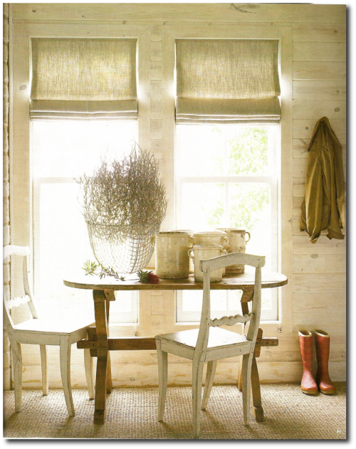 Ginger Barber's Rugged Texas Home House Beautiful Magazine July 2009