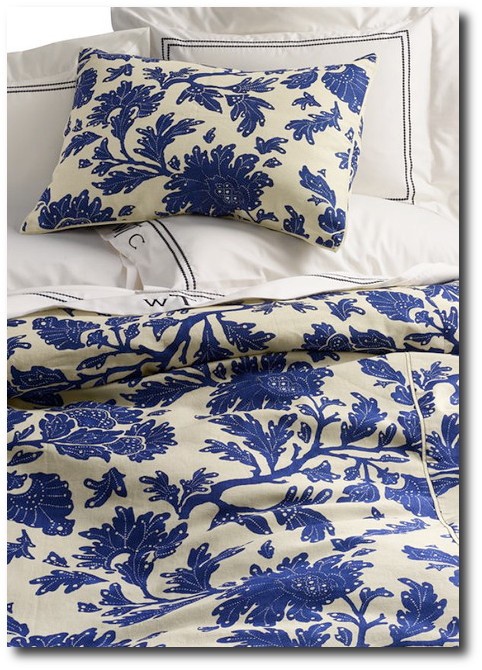 Harbor Springs Floral Duvet Cover