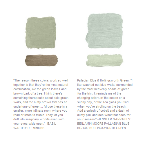 Designer Paint Color Picks Seen At House Beautiful