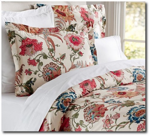 Reagan Floral Duvet Cover & Sham From Pottery Barn