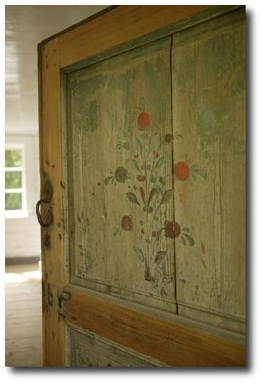 Swedish Door Detail Seen At KML Design