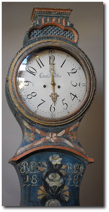 Swedish Mora Clock From Cupboards And Roses