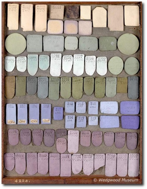 The Creation of Color in Eighteenth Century Europe by Sarah Lowengard- Wedgewood Museum