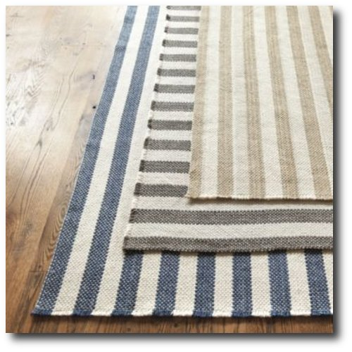 Vineyard Stripe Rug Ballard Designs