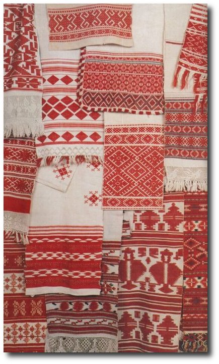 Beautiful Red Textiles- Seen At Bohemian Wornest Tumblr