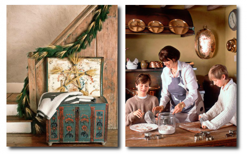 Swedish Country Decorating Seen At Country Living Magazine