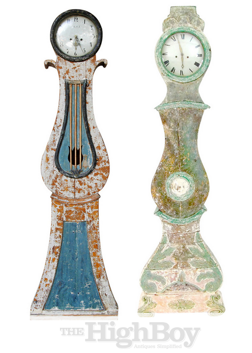 Swedish Mora Clocks From The Highboy Antiques