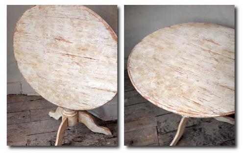 Swedish Tilt Top Table Seen at Puckhaber Decorative Antiques