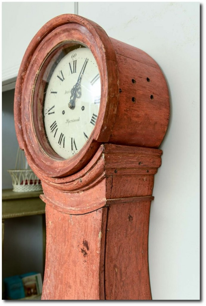 18th Century Swedish Gustavian Grandfather Clock from Stjernsund Castle