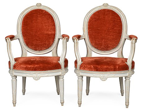 Bukowskis Auction-Jacob Malmsten Chairs