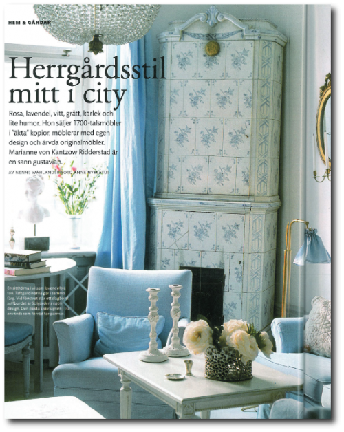 Swedish Interiors Photo Credit- solgarden