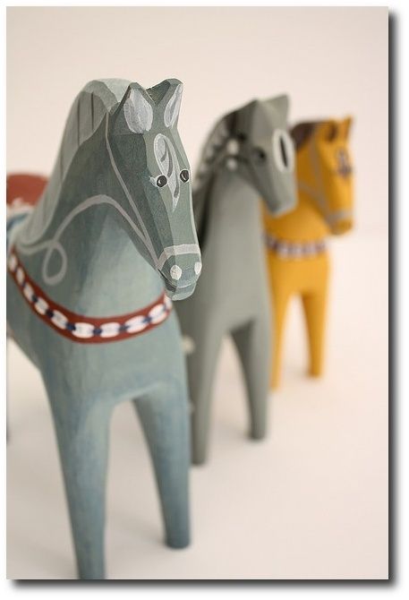 Dala Hast (swedish wooden horse) by Hart Interior photo on Flickr