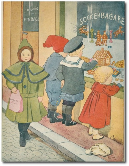 Elsa Beskow Swedish 1874-1953