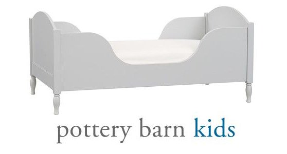 Shelter Toddler Bed, Simply White