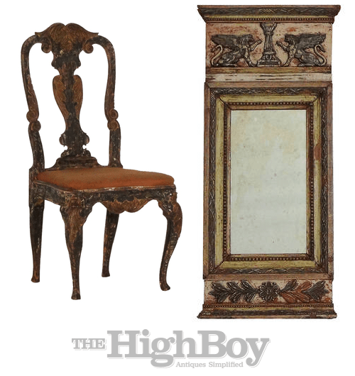 Swedish Antiques From The Highboy