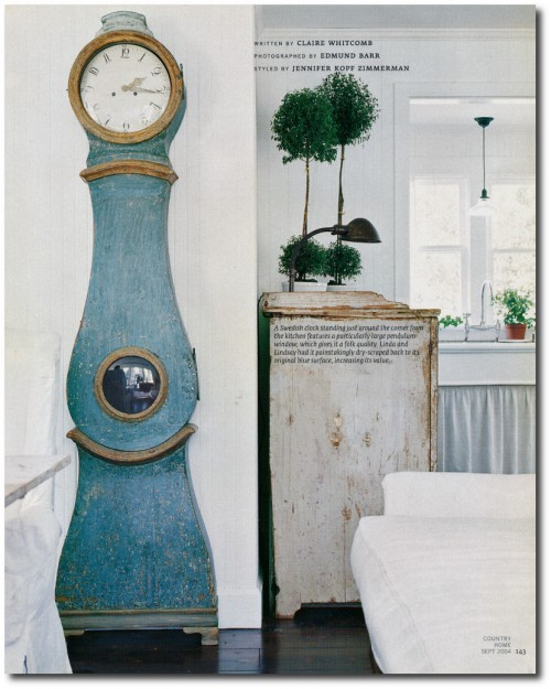Linda And Lindsay Kennedy California Bungalow Decorated In The Swedish Style Page 3