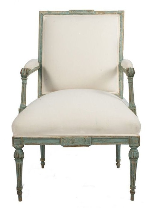 Gustavian Lounge Chair, Sweden, c.1780 Ist Dibs