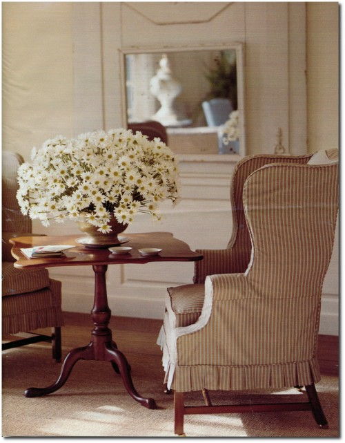 Making Summer Slipcovers For Your Upholstered Furniture- Martha Stewart's Furniture 2