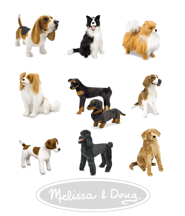Melissa and Doug Plush Dogs