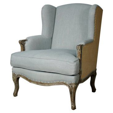 WIngback Chair Seen At One Kings Lane