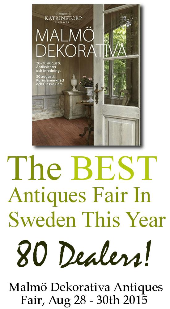 Malmö Dekorativa Antiques Fair 1