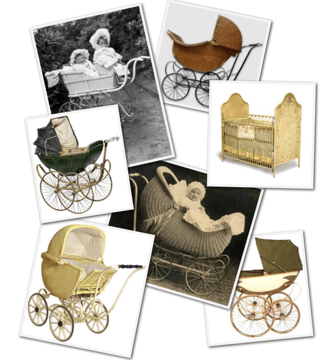 Antique Prams