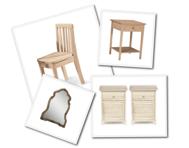 Swedish Style Raw Furniture