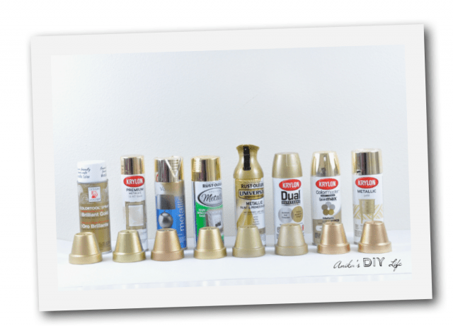 8 Brands Of Gold Spray Paint Were Compared To Find The Best