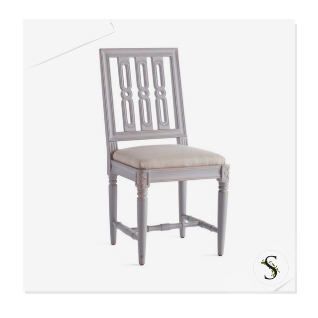 Cool Wisterias Gustavian Dining Chair Machost Co Dining Chair Design Ideas Machostcouk