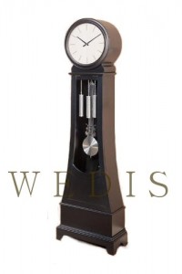 Grandfather Floor Clock in Black By Coaster Furniture