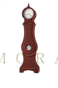 Howard Miller 611-104 Hannover – Chili Red Grandfather Clock