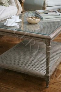 Swedish Furniture Ideas- Shabby Le Chic Louis XVI Style Coffee Table Natural Grey