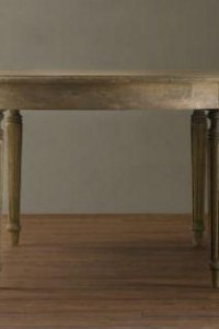 Restoration Hardware's Gustavian Collection- French Empire Fluted Leg table