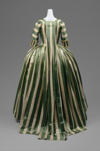 1780s floral decoration and stripes