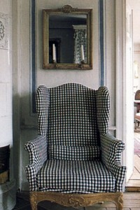 Gustavian Furniture & Decorating – Swedish Furniture found in Lars Sjoberg's house featured in Country Style by Judith and Martin Miller