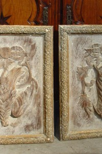 Pair of French Hunt Plaques-19th Century Elements