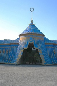 Turkish inspired tent at Haga Park, Sweden. It was built in 1787 to house both stables and guards.