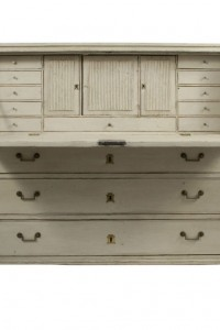 Gustavian Secretary From Lief