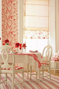 House To Home Features A Stunning Swedish Gustavian Red Dining Room -House To Home.co.uk