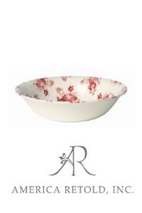 Red Chintz Bowl