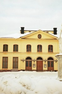 Decorating With Yellow- Drottningholm Palace Theatre