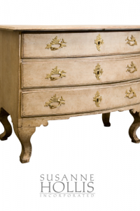 Swedish Chest of Drawers, Dated 1737
