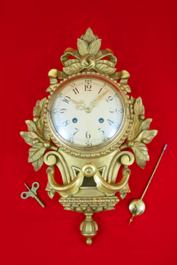 Unique Vintage Wooden Swedish Westerstrand Wall Clock From Just 4 fun 8828