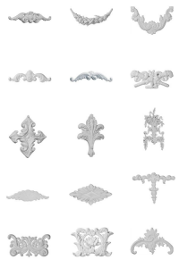 Furniture Appliques From Architectural Depot