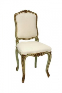 Painted French Chair  Baroque Chair Raymond Goins
